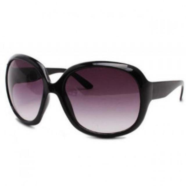 新品 ファッション サングラス 紫外線防止 レディース ブラック レディースのファッション小物(サングラス/メガネ)の商品写真