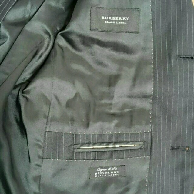 BURBERRY(バーバリー)のバーバリーブラックレーベル スーツ42 メンズのジャケット/アウター(その他)の商品写真