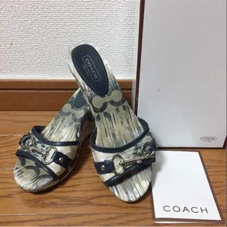 コーチ(COACH)のちぃ様専用(ミュール)
