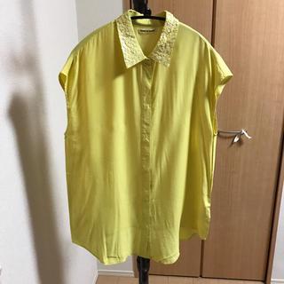 マリリンムーン(MARILYN MOON)のMARILYN MOON ノースリーブシャツ(シャツ/ブラウス(半袖/袖なし))
