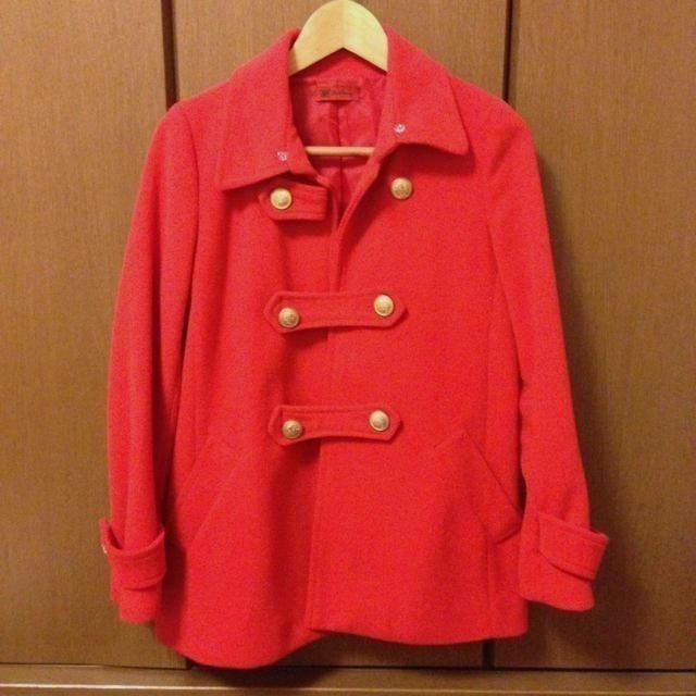 PAPILLONNER(パピヨネ)のナポレオンコート♡ レディースのジャケット/アウター(ピーコート)の商品写真