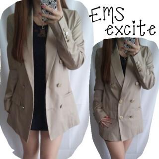 エムズエキサイト(EMSEXCITE)のEMS☆春ロングジャケット(テーラードジャケット)