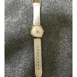 ドルチェアンドガッバーナ(DOLCE&GABBANA)のメンズ D&G White色/ゴールド色 中古腕時計♡kobayashi様専用♡(レザーベルト)