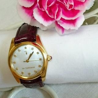 トラサルディ(Trussardi)の美品トラサルディTRUSSARDI革ベルト腕時計(腕時計)