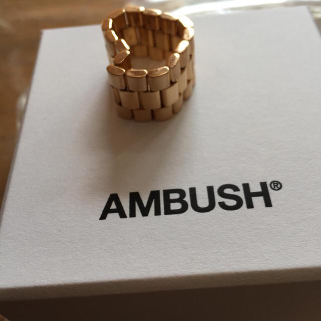 AMBUSH(アンブッシュ)のAMBUSH classicchain メンズのアクセサリー(リング(指輪))の商品写真