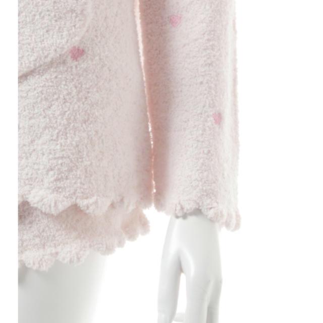 gelato pique(ジェラートピケ)の2017春夏物 ジェラートピケ ホワイトデー限定 ハートパーカー(ピンク) レディースのルームウェア/パジャマ(ルームウェア)の商品写真