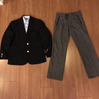 コムサデモード(COMME CA DU MODE)の紺ブレ&コムサパンツ150センチ.シャツは、プレゼント(ジャケット/上着)