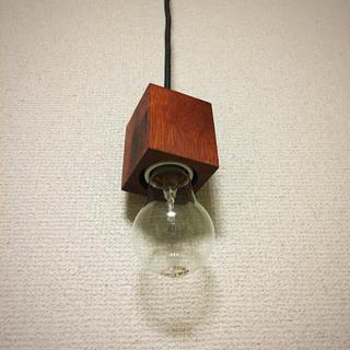 ムジルシリョウヒン(MUJI (無印良品))の木製ペンダントライト(天井照明)
