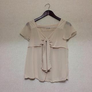 ミスティウーマン(mysty woman)のmysty woman◎シフォンTシャツ(Tシャツ(半袖/袖なし))