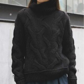 アメリヴィンテージ(Ameri VINTAGE)の週末値下げ ざっくり編み ニット(ニット/セーター)