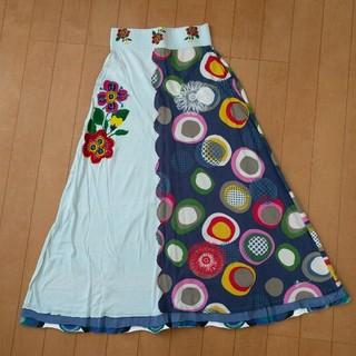 デシグアル(DESIGUAL)のDesigual Sサイズ ロングスカート チューブトップ 2way ワンピ(ロングスカート)