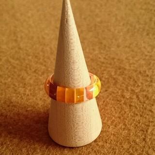 オレンジ リング(リング(指輪))