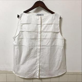 ジルサンダー(Jil Sander)のJIL SANDER ジルサンダー ノースリーブシャツ(シャツ/ブラウス(半袖/袖なし))