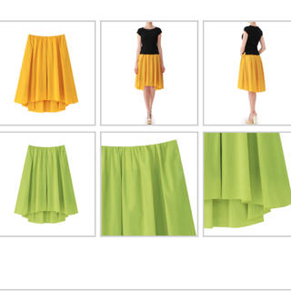 アベニールエトワール(Aveniretoile)の今季 2017 春 アベニールエトワール 黄緑 スカート 36(ロングスカート)