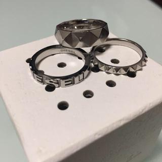 ディーゼル(DIESEL)のDIESEL3連リング(リング(指輪))