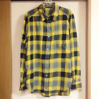 メルシーボークー(mercibeaucoup)の値下ジュブゾンプリ★ブロックチェックネルシャツサイズ3(シャツ)