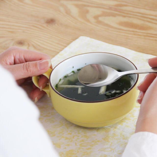 白山陶器(ハクサントウキ)のSale ♡ 新品‼️スープボウル ☻ 波佐見焼 無印 クラスカ イデー  インテリア/住まい/日用品のキッチン/食器(食器)の商品写真