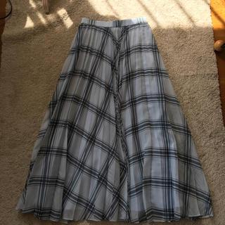 ジルスチュアート(JILLSTUART)のジルスチュアート♡ロングプリーツスカート(ロングスカート)