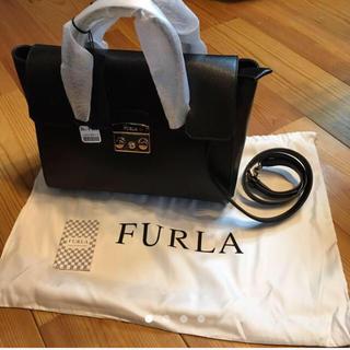 ae600d1efe87 フルラ(Furla)の週末セール‼️7万FURLAメトロポリスサッチェル(ハンドバッグ
