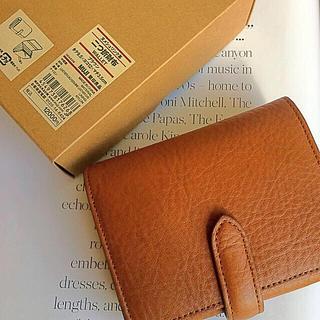 ムジルシリョウヒン(MUJI (無印良品))の【新品】MUJI ヌメシュリンク革2つ折財布 (財布)