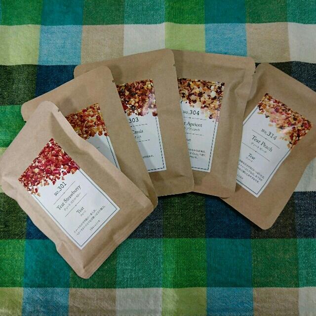 ティートリコ (TEAtrico) 10g色々5種類5点セット 食品/飲料/酒の飲料(茶)の商品写真