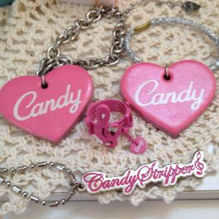 キャンディーストリッパー(Candy Stripper)のCandy♡アクセサリーセット*送料込み(リング(指輪))