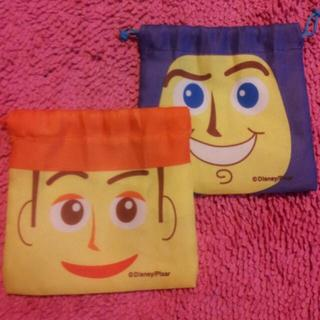 ディズニー(Disney)のディズニー巾着袋(ポーチ)
