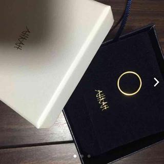 アーカー(AHKAH)のAHKAHリング♡(リング(指輪))