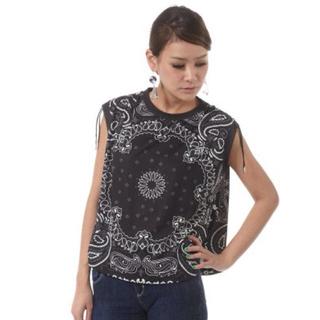 スライ(SLY)の新品 SLYペイズリートップス♥︎(Tシャツ(半袖/袖なし))