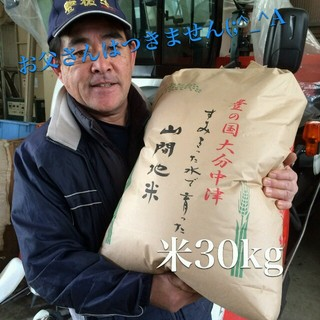 大分県産ヒノヒカリ 玄米30kg 食品/飲料/酒の食品(米/穀物)の商品写真