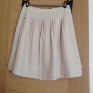 プーラフリーム(pour la frime)の♡春♡ベージュスカート♡(ひざ丈スカート)
