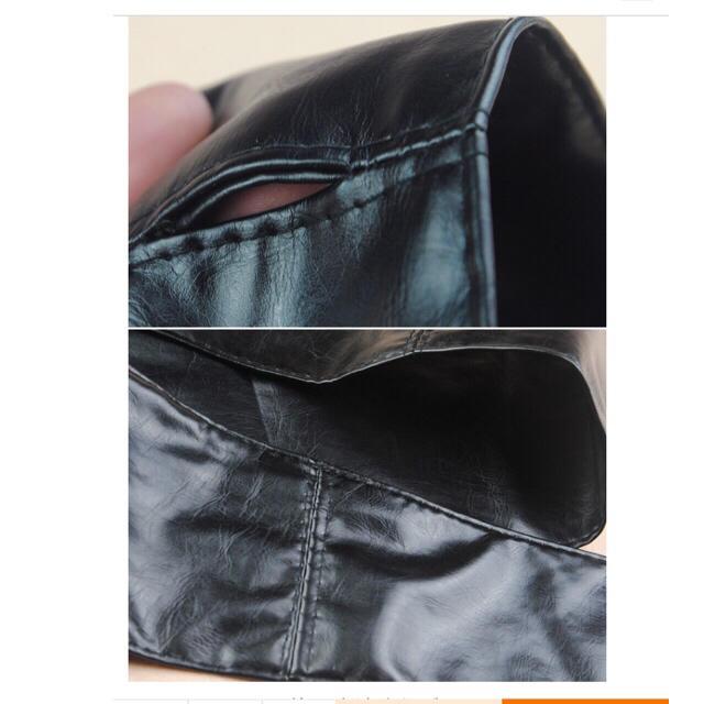 レザー サッシュベルト 黒 ベルトウエスト レディース インスタ ZARA 新品 レディースのファッション小物(ベルト)の商品写真