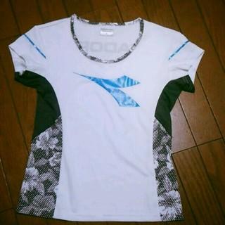 ディアドラ(DIADORA)の美品♡ディアドラ♡テニスウェア♡レディースM(Tシャツ(半袖/袖なし))