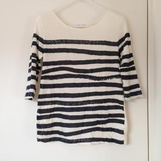 ジャーナルスタンダード(JOURNAL STANDARD)の手描き風ボーダーTシャツ(Tシャツ(長袖/七分))