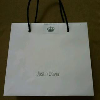 ジャスティンデイビス(Justin Davis)のジャスティンデイビス 空紙袋が1枚(ショップ袋)