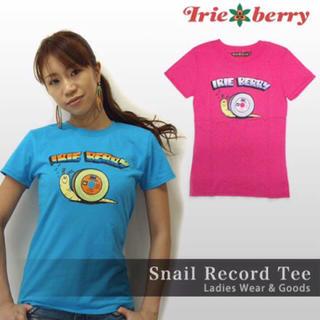 アイリーベリー(Irie Berry)のIRIE BERRY / レコードかたつむり Tシャツ(Tシャツ(半袖/袖なし))