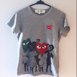 コムデギャルソン(COMME des GARCONS)のコムデギャルソンPLAYTシャツ(Tシャツ(半袖/袖なし))