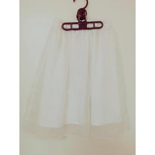 リズリサ(LIZ LISA)のふんわりシフォンスカート(ひざ丈スカート)