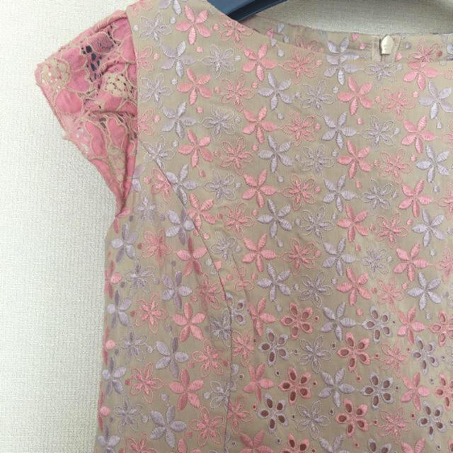 TOCCA(トッカ)のTOCCA ゴールドレーベル 刺繍ワンピース  レディースのワンピース(ひざ丈ワンピース)の商品写真
