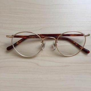 ゾフ(Zoff)のゾフクラシック/zoffclassic/丸眼鏡メガネ/金細フレーム(サングラス/メガネ)