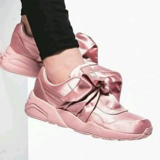 プーマ(PUMA)の送料込み FENTY PUMA Rihanna Bow Sneaker 24.5(スニーカー)