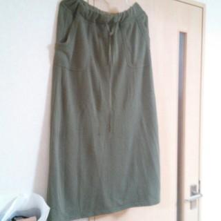 サンカンシオン(3can4on)の美品マキシスカート(ロングスカート)