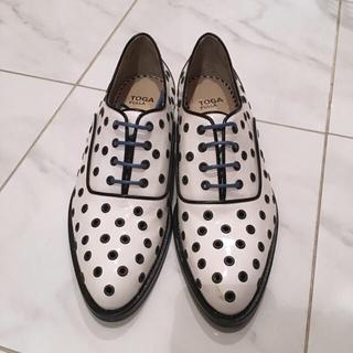 トーガ(TOGA)の新品未使用★TOGA PULLAレースアップシューズ 38(ローファー/革靴)