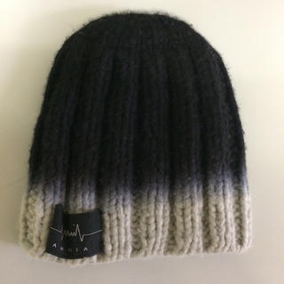 システレ(SISTERE)の美品 システレ AMNIA ニット帽(ニット帽/ビーニー)