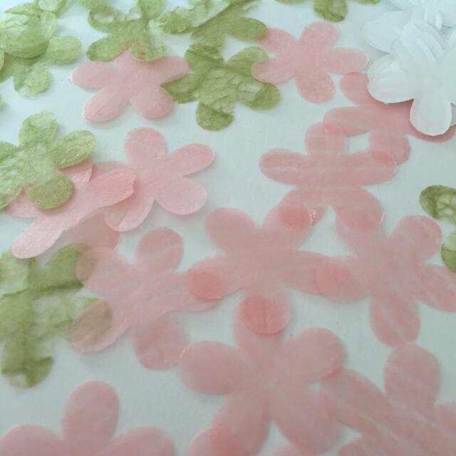 和柄のペーパークラフト〜フラワー〜300枚以上 ハンドメイドの素材/材料(各種パーツ)の商品写真