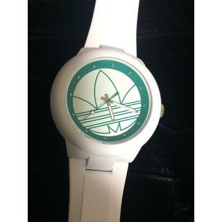 アディダス(adidas)のアディダス ADIDAS アバディーンクオーツ 腕時計 ADH3108 ホワイト(腕時計)