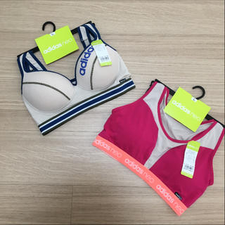 アディダス(adidas)のアディダス スポーツブラ Lサイズ 2点セット☆(ブラ)