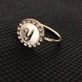 『y』イニシャルリング(リング(指輪))