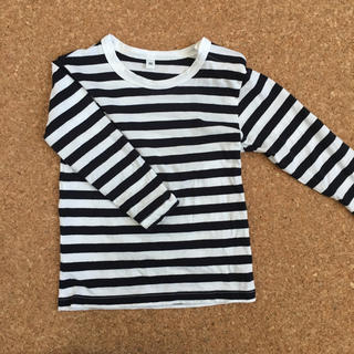 ムジルシリョウヒン(MUJI (無印良品))の無印良品 ボーダーT(Tシャツ/カットソー)