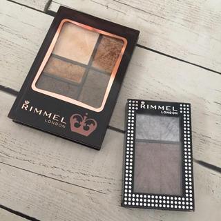 リンメル(RIMMEL)のRIMMEL 茶系アイシャドウセット(アイシャドウ)